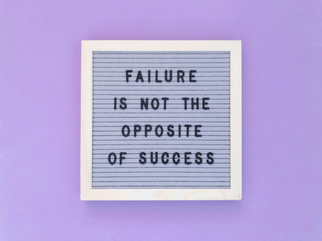 Slow business doesn't mean you've failed.